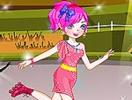 Roller Skating Girl Dress Up