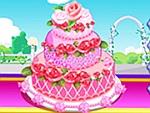 Rose Wedding Cake 2