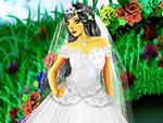 Rose Wedding Dress Up