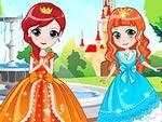 Royal Three Sisters Dress Up