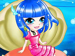 Sea Shell Girl Dress Up