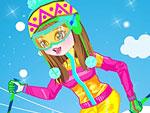 Skiing Beauty Dress Up