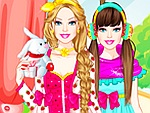 Sleepover Princess Dress Up