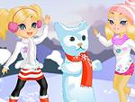 Snow Friends Dress Up