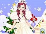 Snow White Christmas Bride Dress Up
