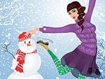 Snowflakes Fashion Dress Up
