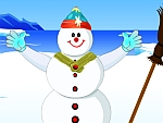 Snowman Fashion Dress Up