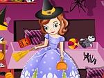 Sofia Halloween House Cleaning