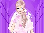 Sophisticated Fur Coat Bride Dress Up
