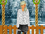 Sparkling Winter Party Dress Up
