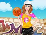 Sporty Girl Dress Up