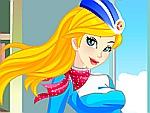Stewardess Brittany Dress Up