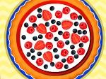 Strawberry Blackcurrant Pie