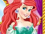 Striking Beautiful Princess Ariel Dress Up