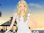 Sunset Wedding Dress Up