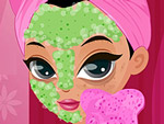 Supermodel Facial Makeover