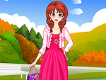 Sweet Autumn Girl Dress Up