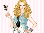 Sweet Country Singer Dress Up