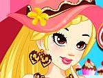 Sweet Cupcake Girl Dress Up