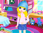 Sweet Girl Shining Room Dress Up