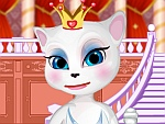 Talking Angela Becomes Queen Dress Up