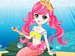 Tender Mermaid Princess Dress Up