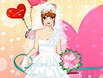 The White Bride Dress Up