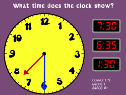 Time Teller | Telling Time Game | Reading a Clock | Elapsed Time Game