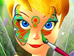 Tinkerbell Spring Face Painting
