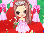 Wedding Peach Girl Dress Up