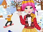 Winter Freeze Dress Up