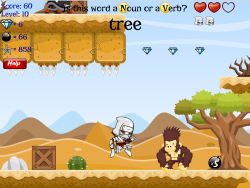 Word Ninja | Nouns, Verbs, Adjectives, Adverbs, Irregular Verbs, Prefixes, Suffixes, Phrases, Clause