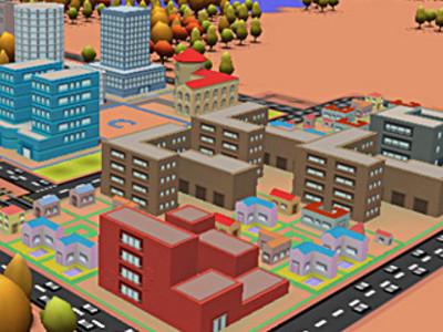 3D City Builder