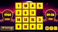 4x4 Number Slider