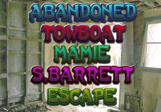 Abandoned Towboat Mamie S. Barrett Escap