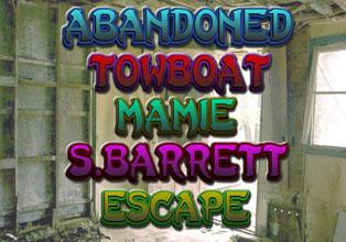 Abandoned Towboat Mamie S. Barrett Escape