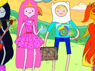 Adventure Time Dress Up