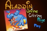 Aladdin Online Coloring Page
