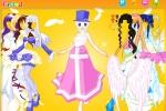 Angel In A Fairy Tale Dress Up