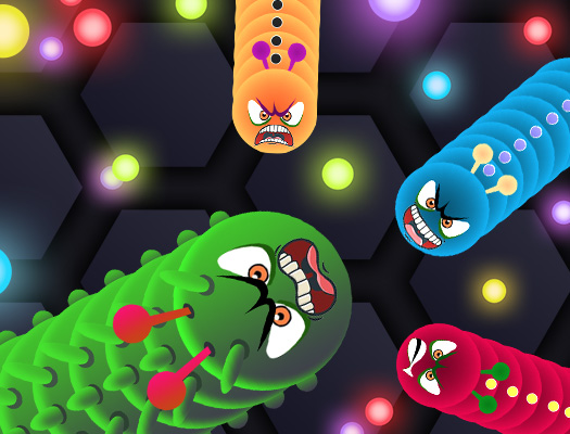 Play Angry Worms | Free Online Games  KidzSearch com
