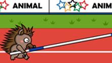 Animal Olympics Pole Vault
