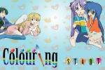 Anime Cartoon Girl Coloring