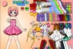 Anime Girl Ink Dress Up