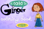 As Told by Ginger Coloring Book