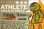 Athlete Balls And Walls