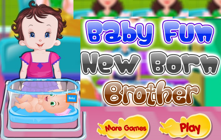 Baby Fun New Born Brother