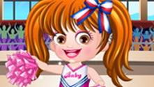 Baby Hazel Cheerleader Dress Up