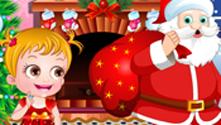 Baby Hazel Christmas Time