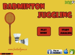 Badminton Juggling