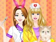 Barbie And Ellie Vet School Prep